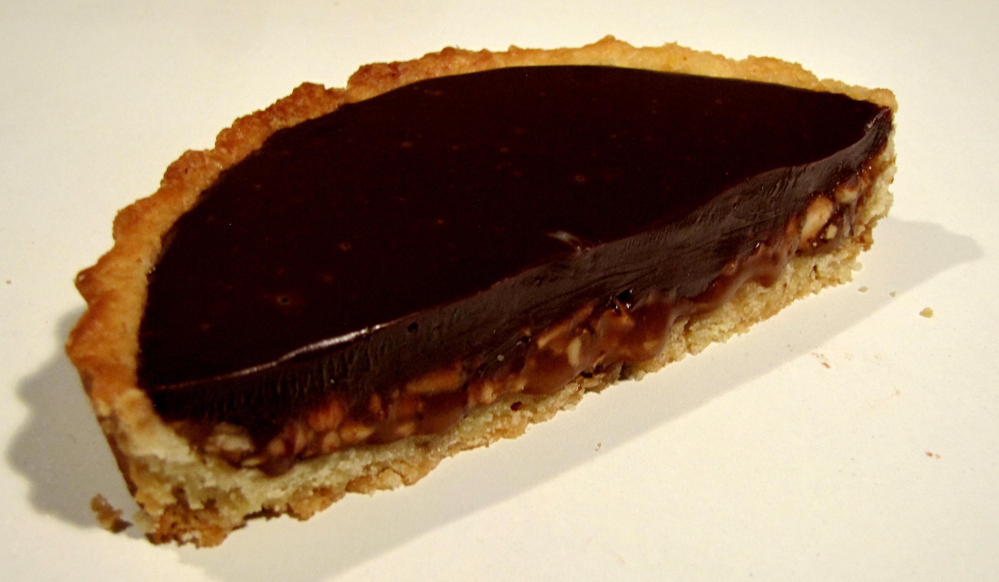 Chocolate Caramel Tart Recipe — Dishmaps