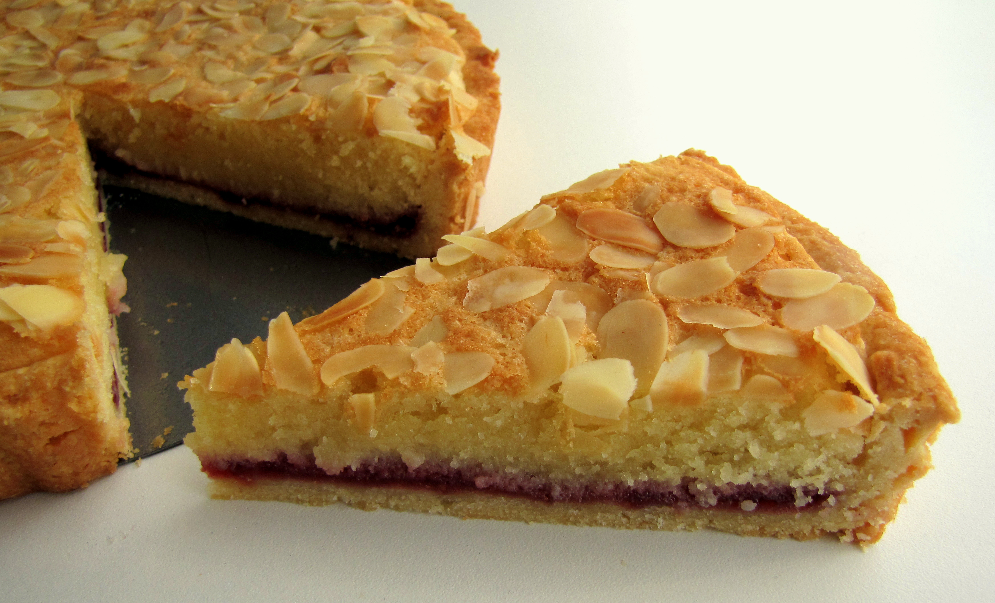 Italian Almond Tart Recipe — Dishmaps